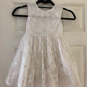 Children's place dress | Toddler 5T| White